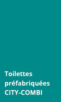 Prefabricated Toilet CITY